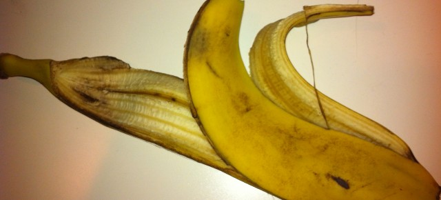 Bananskalshumor: Vilket väljer du?